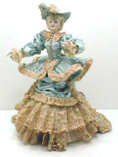 Ten Inch Victorian Lady Doll Figurine