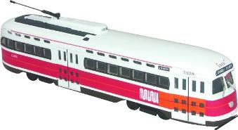 Corgi die-cast US55033, San Francisco PCC Car