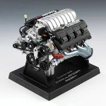 Liberty Classics L84033, Dodge Challenger SRT-8 Engine, 1/6 Scale