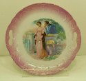 Early 1900's Unsigned Courting Scene 9 1/8 in. Plate