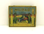 Murad Turkish Cigarette Advertising Tin